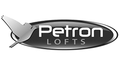 Petron Black and White logo icon